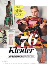 Titelbild der Ausgabe 7/2020 von 76Kleider. Zeitschriften als Abo oder epaper bei United Kiosk online kaufen.
