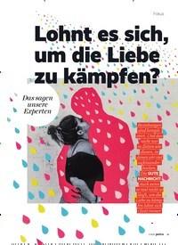 Titelbild der Ausgabe 7/2020 von Lohnt es sich,um die Liebe zu kämpfen?. Zeitschriften als Abo oder epaper bei United Kiosk online kaufen.