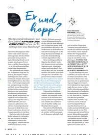 Titelbild der Ausgabe 9/2020 von O-Ton: Ex und hopp?. Zeitschriften als Abo oder epaper bei United Kiosk online kaufen.