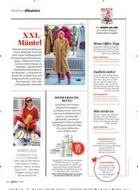 Titelbild der Ausgabe 11/2020 von Redaktion & Reaktion: Nicole probiert's an!: XXLMäntel. Zeitschriften als Abo oder epaper bei United Kiosk online kaufen.