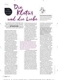 Titelbild der Ausgabe 11/2020 von O-Ton: Alles eine Frage des Stils: Die Klotür und die Liebe. Zeitschriften als Abo oder epaper bei United Kiosk online kaufen.