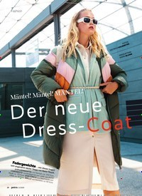Titelbild der Ausgabe 11/2020 von Mäntel! Mäntel! MÄNTEL!: Der neue Dress- Coat. Zeitschriften als Abo oder epaper bei United Kiosk online kaufen.