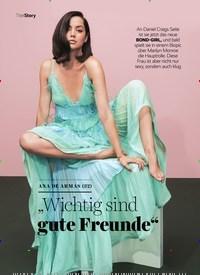 """Titelbild der Ausgabe 11/2020 von ANA DE ARMAS (32): """"Wichtig sind gute Freunde"""". Zeitschriften als Abo oder epaper bei United Kiosk online kaufen."""