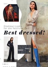 Titelbild der Ausgabe 12/2020 von Glamour- Looks für die festliche Zeit: Best dressed!. Zeitschriften als Abo oder epaper bei United Kiosk online kaufen.
