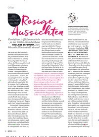 Titelbild der Ausgabe 2/2021 von O-Ton: Alles eine Frage des Stils: Rosige Aussichten. Zeitschriften als Abo oder epaper bei United Kiosk online kaufen.