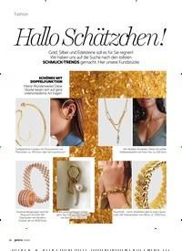 Titelbild der Ausgabe 2/2021 von Hallo Schätzchen!. Zeitschriften als Abo oder epaper bei United Kiosk online kaufen.