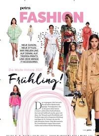 Titelbild der Ausgabe 3/2021 von Die Mode-Hitliste 2021: Frühling!. Zeitschriften als Abo oder epaper bei United Kiosk online kaufen.