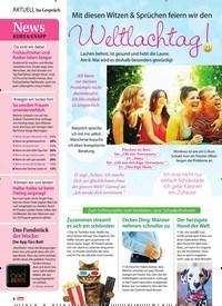 Titelbild der Ausgabe 19/2018 von Im Gespräch: News Kurz & Knapp. Zeitschriften als Abo oder epaper bei United Kiosk online kaufen.