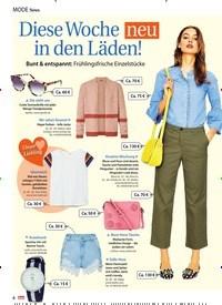 Titelbild der Ausgabe 20/2018 von Mode News: Diese Woche neu in den Läden!. Zeitschriften als Abo oder epaper bei United Kiosk online kaufen.