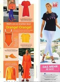 Titelbild der Ausgabe 20/2018 von Weil's uns so strahlen lässt: Orange! Orange!. Zeitschriften als Abo oder epaper bei United Kiosk online kaufen.