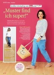 """Titelbild der Ausgabe 20/2018 von MODE Vorher – Nachher: Großes Umstyling von Lea und: """"Muster find ich super!"""". Zeitschriften als Abo oder epaper bei United Kiosk online kaufen."""