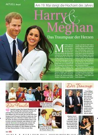 Titelbild der Ausgabe 21/2018 von Royal: Am 19. Mai steigt die Hochzeit des Jahres: Harry & Meghan. Zeitschriften als Abo oder epaper bei United Kiosk online kaufen.