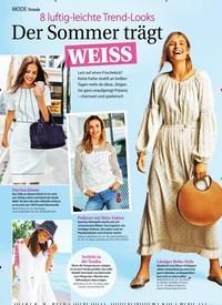Titelbild der Ausgabe 23/2018 von Trends: 8 luftig-leichte Trend-Looks: Der Sommer trägt: WEISS. Zeitschriften als Abo oder epaper bei United Kiosk online kaufen.