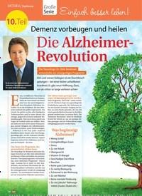 Titelbild der Ausgabe 23/2018 von Topthema: Große Serie: Einfach besser leben!: 10. Teil: Demenz vorbeugen und heilen: Die Alzheimer-Revolution: Das ReCODE-Programm. Zeitschriften als Abo oder epaper bei United Kiosk online kaufen.