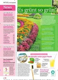 Titelbild der Ausgabe 24/2018 von Im Gespräch: Es grünt so grün!. Zeitschriften als Abo oder epaper bei United Kiosk online kaufen.