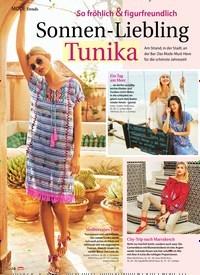 Titelbild der Ausgabe 26/2018 von Trends: So fröhlich & figurfreundlich: Sonnen-Liebling: Tunika. Zeitschriften als Abo oder epaper bei United Kiosk online kaufen.