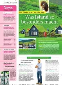 Titelbild der Ausgabe 27/2018 von Das friedlichste Land der Welt!: Was Island so besonders macht. Zeitschriften als Abo oder epaper bei United Kiosk online kaufen.