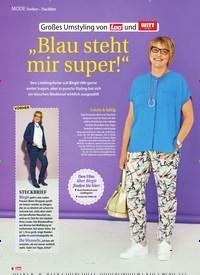 """Titelbild der Ausgabe 27/2018 von Vorher – Nachher: Großes Umstyling von Lea und WITT weiden : """"Blau steht mir super!"""". Zeitschriften als Abo oder epaper bei United Kiosk online kaufen."""