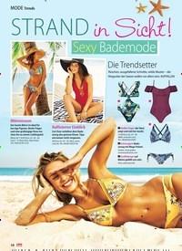 Titelbild der Ausgabe 27/2018 von Trends: Strand in Sicht!: Sexy Bademode: Die Trendsetter. Zeitschriften als Abo oder epaper bei United Kiosk online kaufen.
