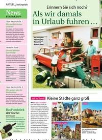 Titelbild der Ausgabe 29/2018 von Voll im Trend! Kleine Städte ganz groß. Zeitschriften als Abo oder epaper bei United Kiosk online kaufen.