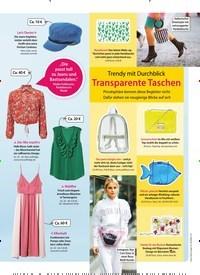 Titelbild der Ausgabe 29/2018 von Trendy mit Durchblick: Transparente Taschen. Zeitschriften als Abo oder epaper bei United Kiosk online kaufen.