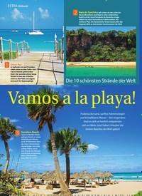 Titelbild der Ausgabe 30/2018 von EXTRA Weltweit: Die 10 schönsten Strände der Welt: Vamos a la playa!. Zeitschriften als Abo oder epaper bei United Kiosk online kaufen.