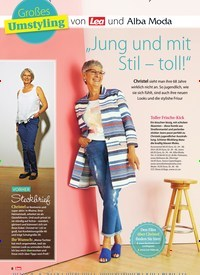 """Titelbild der Ausgabe 32/2018 von Großes Umstyling: von Lea und Alba Moda: """"Jung und mit Stil – toll!"""". Zeitschriften als Abo oder epaper bei United Kiosk online kaufen."""