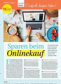Titelbild der Ausgabe 32/2018 von Topthema: Große Serie Einfach besser leben! Sparen beim Onlinekauf. Zeitschriften als Abo oder epaper bei United Kiosk online kaufen.