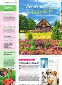 Titelbild der Ausgabe 33/2018 von Aktuell Im Gespräch: News: Kurz & Knapp. Zeitschriften als Abo oder epaper bei United Kiosk online kaufen.