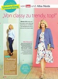 """Titelbild der Ausgabe 33/2018 von Großes: Umstyling: von Lea und Alba Moda: """"Von classy zu trendy, top!"""". Zeitschriften als Abo oder epaper bei United Kiosk online kaufen."""