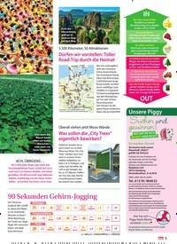 Titelbild der Ausgabe 34/2018 von 5.500 Kilometer, 50 Attraktionen: Dürfen wir vorstellen: Toller Road-Trip durch die Heimat. Zeitschriften als Abo oder epaper bei United Kiosk online kaufen.