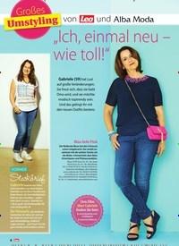 """Titelbild der Ausgabe 36/2018 von Großes Umstyling: """"Ich, einmal neu – wie toll!"""". Zeitschriften als Abo oder epaper bei United Kiosk online kaufen."""