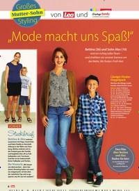 """Titelbild der Ausgabe 39/2018 von Großes Mutter-Sohn Styling: """"Mode macht uns Spaß!"""". Zeitschriften als Abo oder epaper bei United Kiosk online kaufen."""