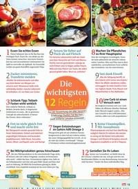 Titelbild der Ausgabe 40/2018 von Die wichtigsten 12 Regeln. Zeitschriften als Abo oder epaper bei United Kiosk online kaufen.
