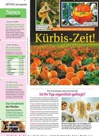 Titelbild der Ausgabe 41/2018 von Zum Dekorieren und Schnabulieren: Kürbis-Zeit!. Zeitschriften als Abo oder epaper bei United Kiosk online kaufen.
