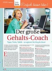 Titelbild der Ausgabe 41/2018 von AKTUEL Topthema: Einfach besser leben! Der große Gehalts-Coach. Zeitschriften als Abo oder epaper bei United Kiosk online kaufen.