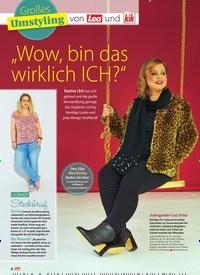 """Titelbild der Ausgabe 43/2018 von Großes: Umstyling: """"Wow, bin das wirklich ICH?"""". Zeitschriften als Abo oder epaper bei United Kiosk online kaufen."""