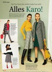 Titelbild der Ausgabe 43/2018 von Styling: Der Top-Trend, der wirklich jeder Frau steht: Alles Karo!. Zeitschriften als Abo oder epaper bei United Kiosk online kaufen.