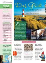 Titelbild der Ausgabe 44/2018 von Das Glück: wohnt im hohen Norden. Zeitschriften als Abo oder epaper bei United Kiosk online kaufen.