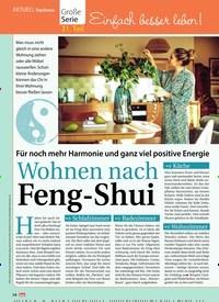 Titelbild der Ausgabe 44/2018 von Topthema: Einfach besser leben!: Für noch mehr Harmonie und ganz viel positive Energie: Wohnen nach Feng-Shui. Zeitschriften als Abo oder epaper bei United Kiosk online kaufen.