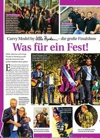Titelbild der Ausgabe 45/2018 von Aktion: Curvy Model by Ulla Popken– die große Finalshow: Was für ein Fest!. Zeitschriften als Abo oder epaper bei United Kiosk online kaufen.
