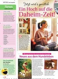 Titelbild der Ausgabe 46/2018 von Im Gespräch: News Kurz & Knapp: Schwer verliebt: Zusammenziehen? Achtung, Figurfalle. Zeitschriften als Abo oder epaper bei United Kiosk online kaufen.