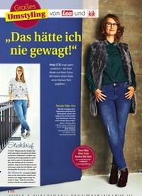 """Titelbild der Ausgabe 46/2018 von Großes Umstyling: """"Das hätte ich nie gewagt!"""". Zeitschriften als Abo oder epaper bei United Kiosk online kaufen."""