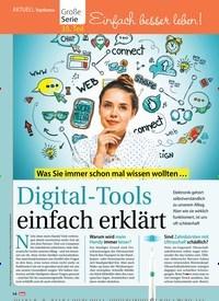 Titelbild der Ausgabe 48/2018 von Topthema: Was Sie immer schon mal wissen wollten …:Digital-Tools einfach erklärt. Zeitschriften als Abo oder epaper bei United Kiosk online kaufen.