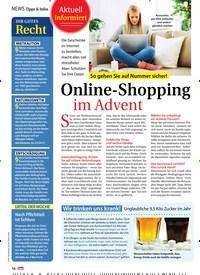 Titelbild der Ausgabe 48/2018 von Tipps & Infos: Ihr gutes: Recht. Zeitschriften als Abo oder epaper bei United Kiosk online kaufen.