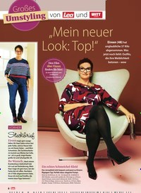 """Titelbild der Ausgabe 49/2018 von Großes Umstyling von Lea und WITT weiden: """"Mein neuer Look: Top!"""". Zeitschriften als Abo oder epaper bei United Kiosk online kaufen."""