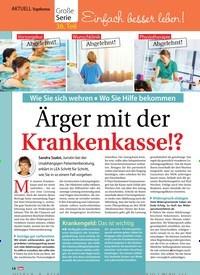 Titelbild der Ausgabe 49/2018 von Topthema: Einfach besser leben! Ärger mit der Krankenkasse!?. Zeitschriften als Abo oder epaper bei United Kiosk online kaufen.