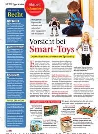 Titelbild der Ausgabe 49/2018 von Aktuell informiert: Vorsicht bei Smart-Toys. Zeitschriften als Abo oder epaper bei United Kiosk online kaufen.