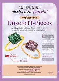 Titelbild der Ausgabe 50/2018 von Mit welchem möchten Sie funkeln?: Wir präsentieren: Unsere IT-Pieces. Zeitschriften als Abo oder epaper bei United Kiosk online kaufen.