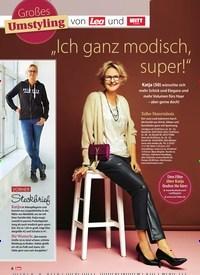 """Titelbild der Ausgabe 50/2018 von Großes Umstyling von und:""""Ich ganz modisch, super!"""". Zeitschriften als Abo oder epaper bei United Kiosk online kaufen."""